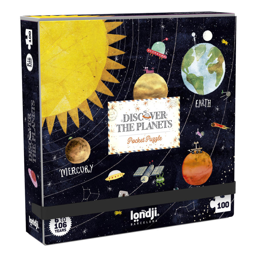 Pocket Puzzle Discover the Planets