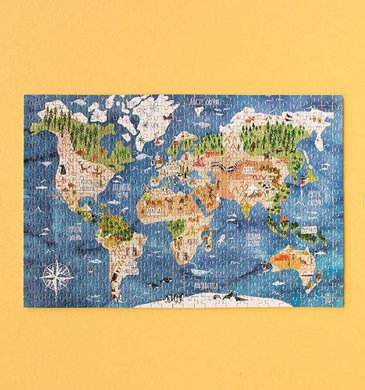 Micropuzzle Discover the World
