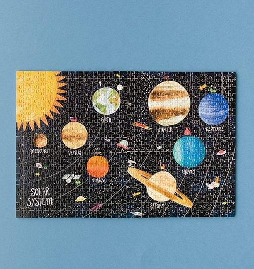 Micropuzzle Discover the Planets