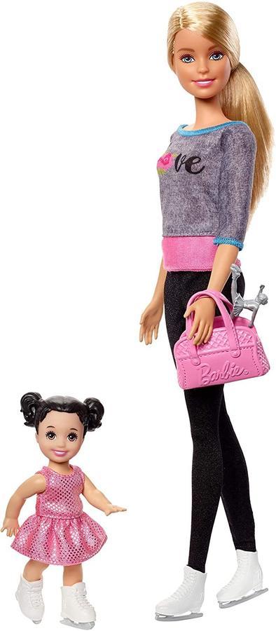 Barbie Set pattinaggio su ghiaccio - Mattel FXP38 - 3+ anni