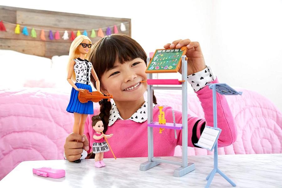 Barbie Set Insegnante di Musica- Mattel FXP18 - 3+ anni