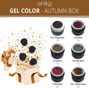 Gel Color - Autumn Box - 6 Gel