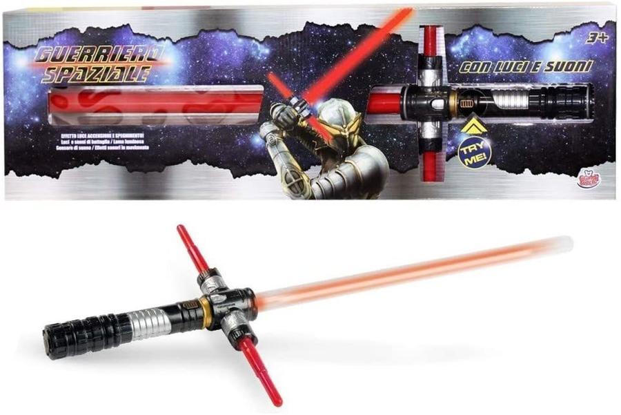 Spada laser con luci e suoni - Grandi Giochi 868-24 - 3+ anni