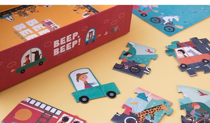 Puzzle Beep, Beep!