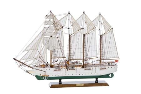 Modello della Goletta  Juan Sebastiàn de Elcano di Artesania Esteban - Mondo Nautica 24