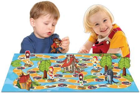 Il gioco di Cappuccetto Rosso - Grandi giochi - PL0710 - 4+ anni