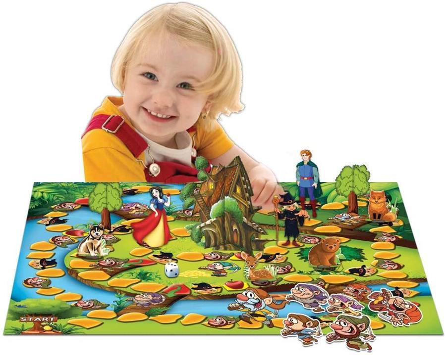 Il gioco di Biancaneve e i 7 nani - Grandi giochi - PL0710 - 4+ anni
