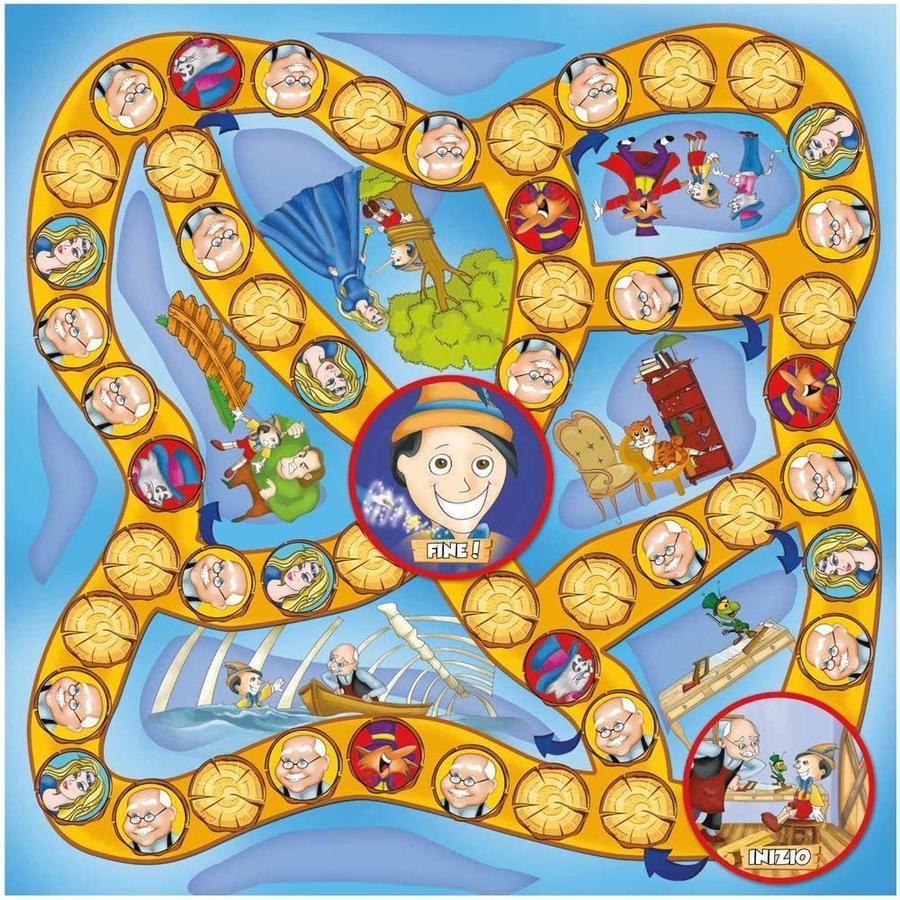 Il gioco di Pinocchio - Grandi giochi - PL0710 - 4+ anni