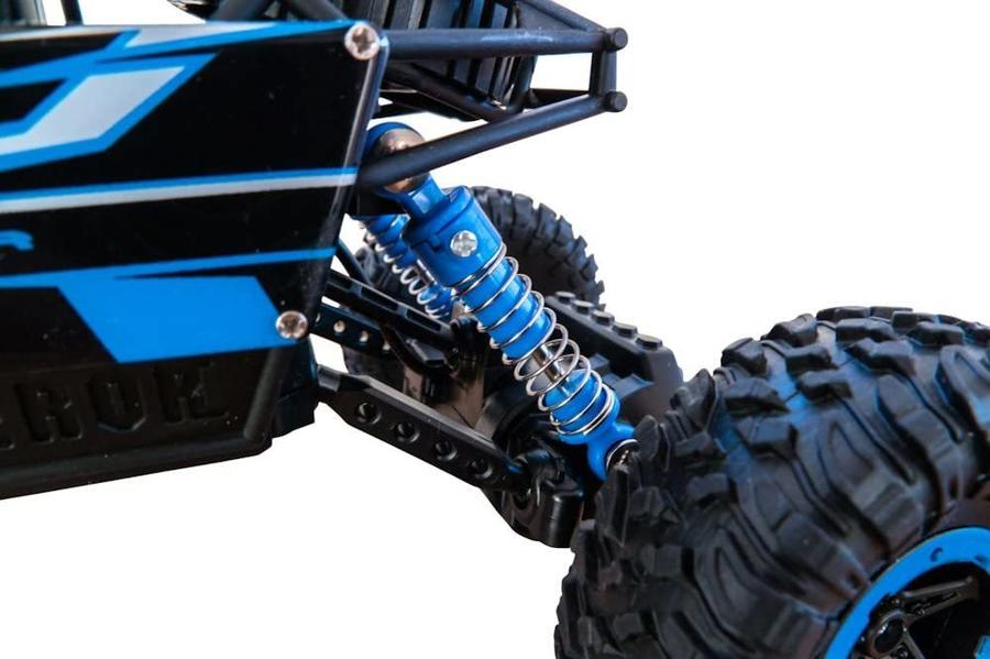 Auto Rc Rock Crawler Destroyer blu, scala 1:18 - Siva - 50410 - 8+ anni