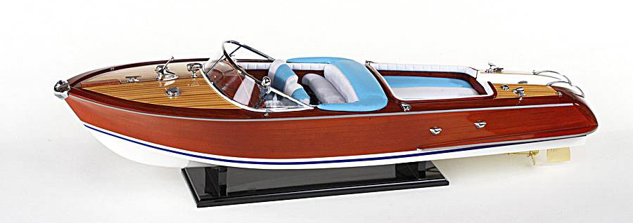 Modello di Motoscafo in Legno di Artesania Esteban - Mondo Nautica 24