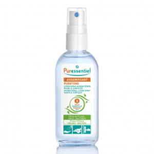 Puressentiel - Lozione spray purificante mani 80ml