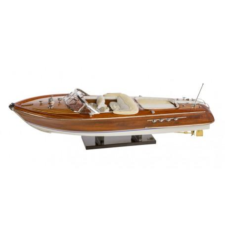 Modello di Motoscafo Italiano anni '60 di Artesania Esteban - Mondo Nautica 24