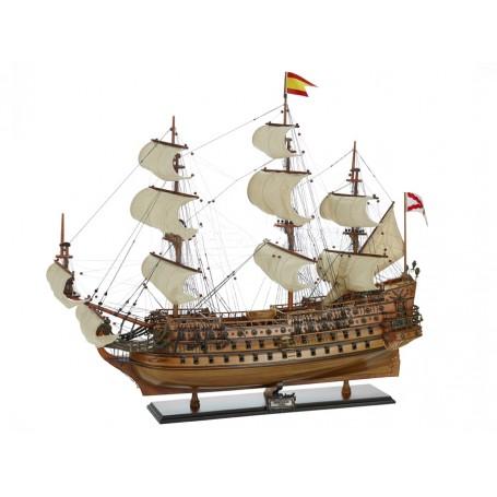 Modello del San Felipe (1690) di Artesania Esteban - Mondo Nautica 24