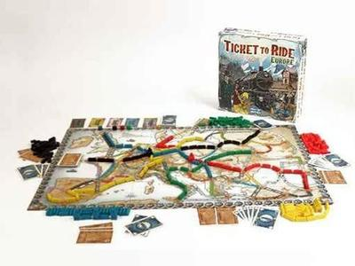 Ticket To Ride Europa - Days of wonder - LFCABJ8 - 8+ anni