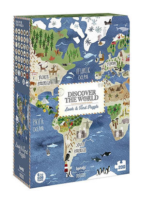Puzzle Discover the World