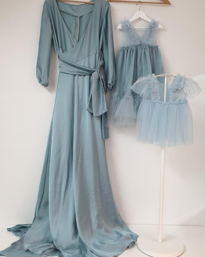 BLUE POLVERE  Set mommy and me