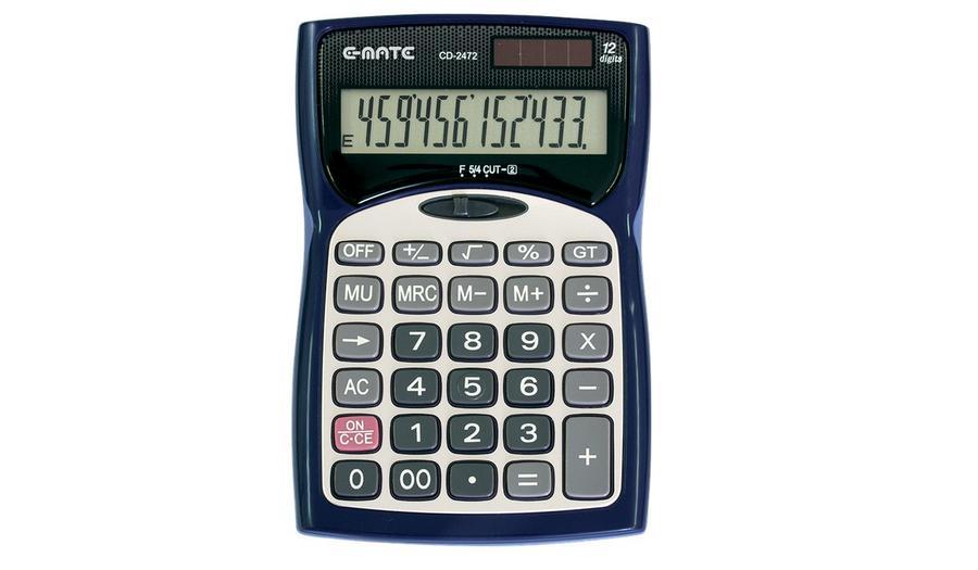 CALCOLATRICE DESKTOP E-MATE CD-2472