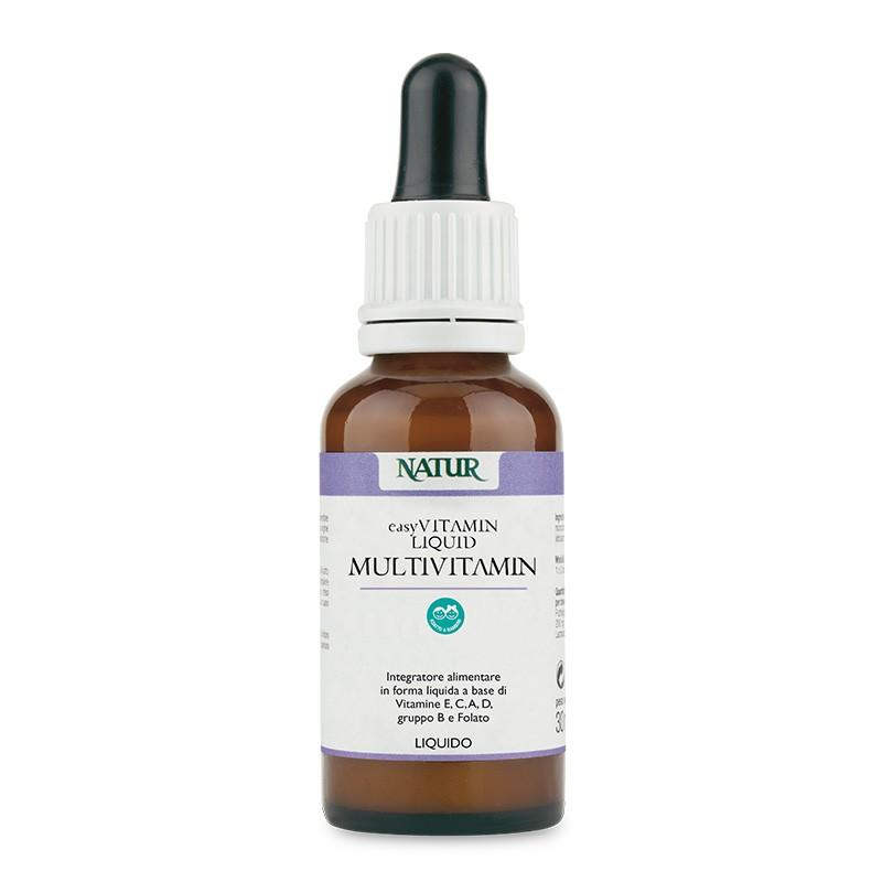 Multivitaminico in gocce naturale 100%