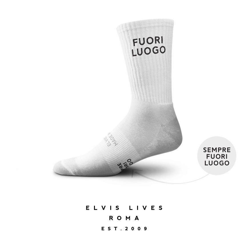 Elvis Lives Socks - Fuori Luogo
