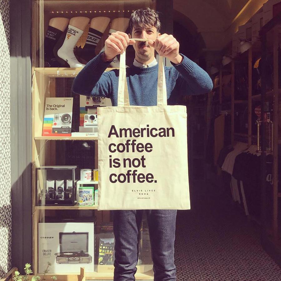 Elvis Lives Shopper Coffee