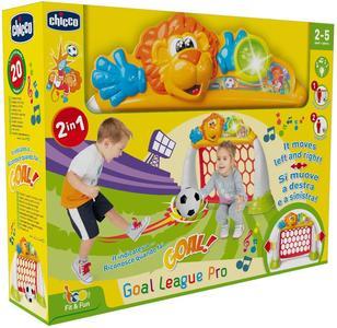 Porta Calcio Goal League Pro Elettronica - Chicco - 9838 - 2-5 anni.