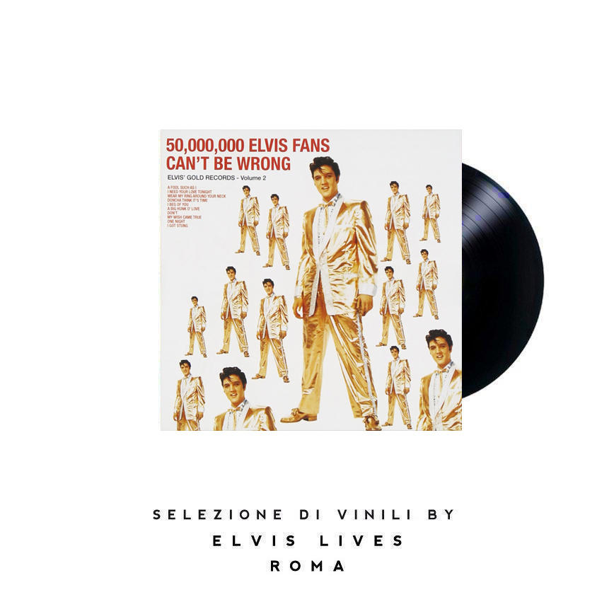 Elvis Presley - 50.000 Elvis Fans Can't be Wrong