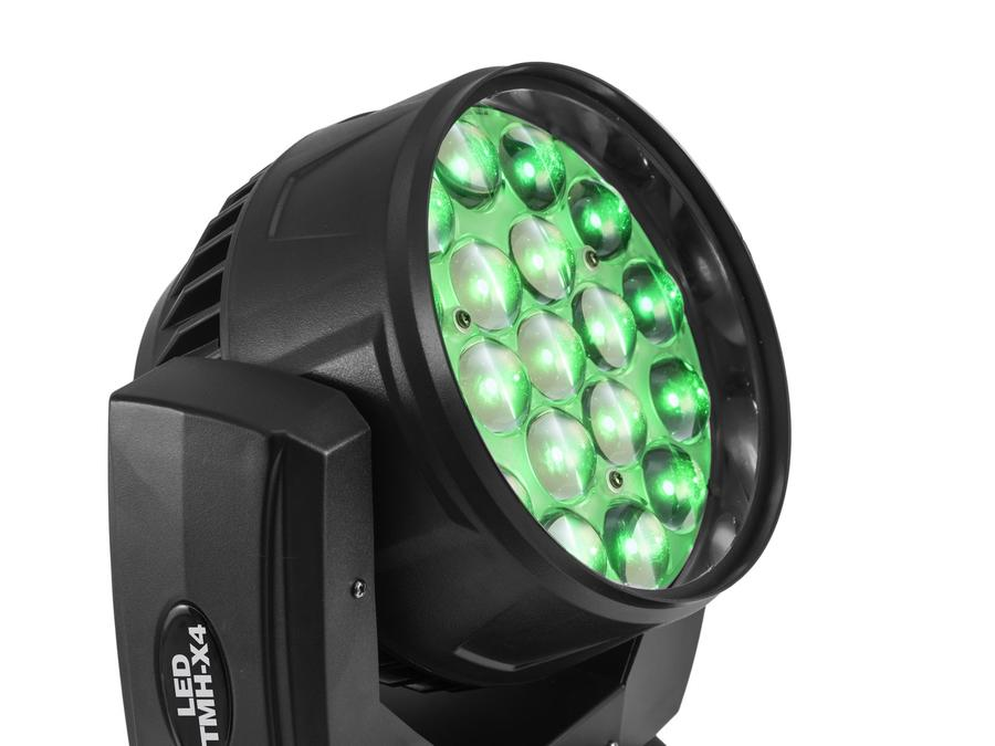 EUROLITE LED TMH-X4 Moving Head Wash Zoom testa mobile