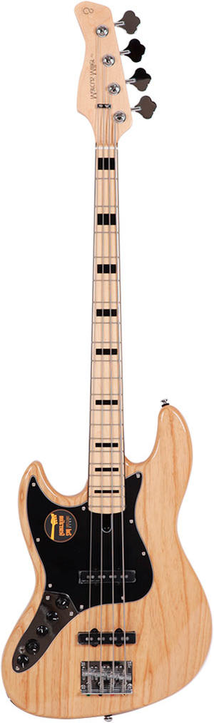 MARCUS MILLER V7 VINTAGE SWAMP ASH-4 LEFTHAND (2ND GEN) NAT NATURAL