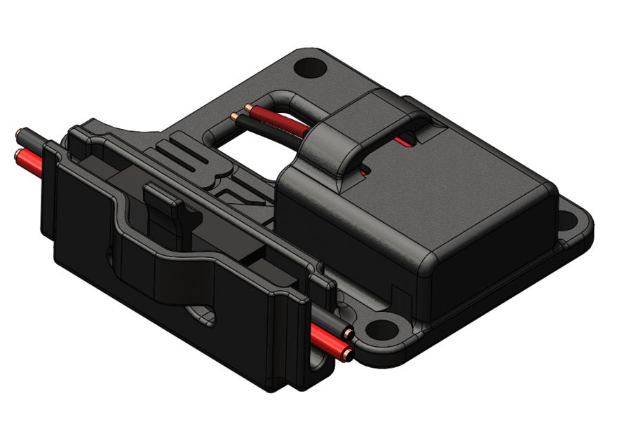 BF - Battery Connector Holder for Kyosho (Futaba/Hitech Plug)