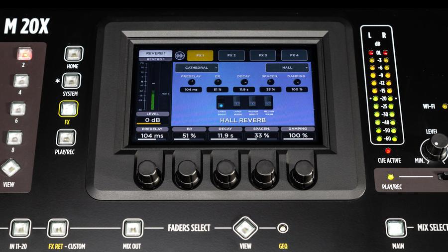 RCF M20X MIXER DIGITALE