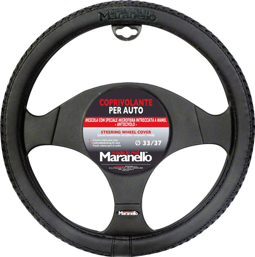 Coprivolante Maranello Nero Filo Nero Diametro 33-37