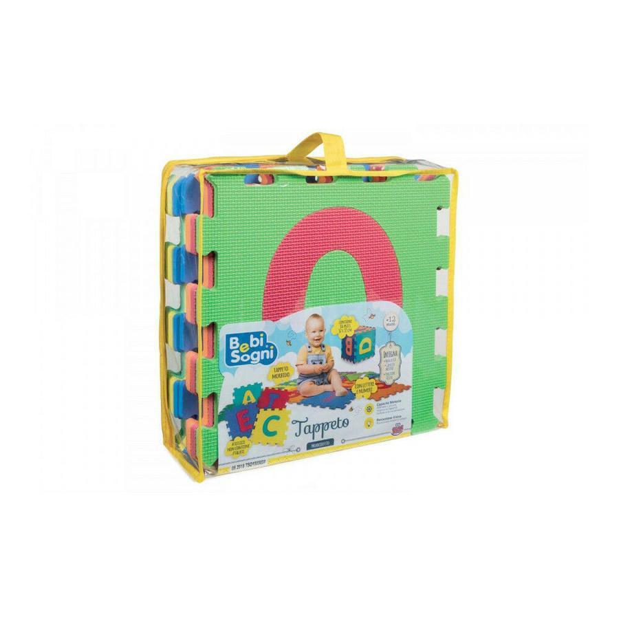 Tappetone Morbidone Sacca 10 pezzi - Grandi Giochi - 70032 - 12+ mesi