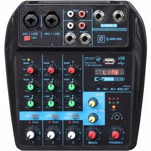 MIXER KARAOKE Q MINI USB MIXER BLUETOOTH