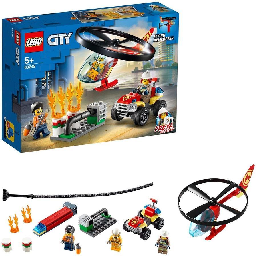Elicottero dei Pompieri - Lego City 60248 - 5+ anni