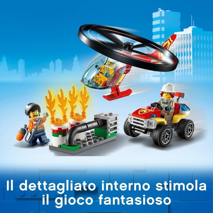 LEGO City Fire Elicottero dei Pompieri - Lego - 60248 - 5+ anni