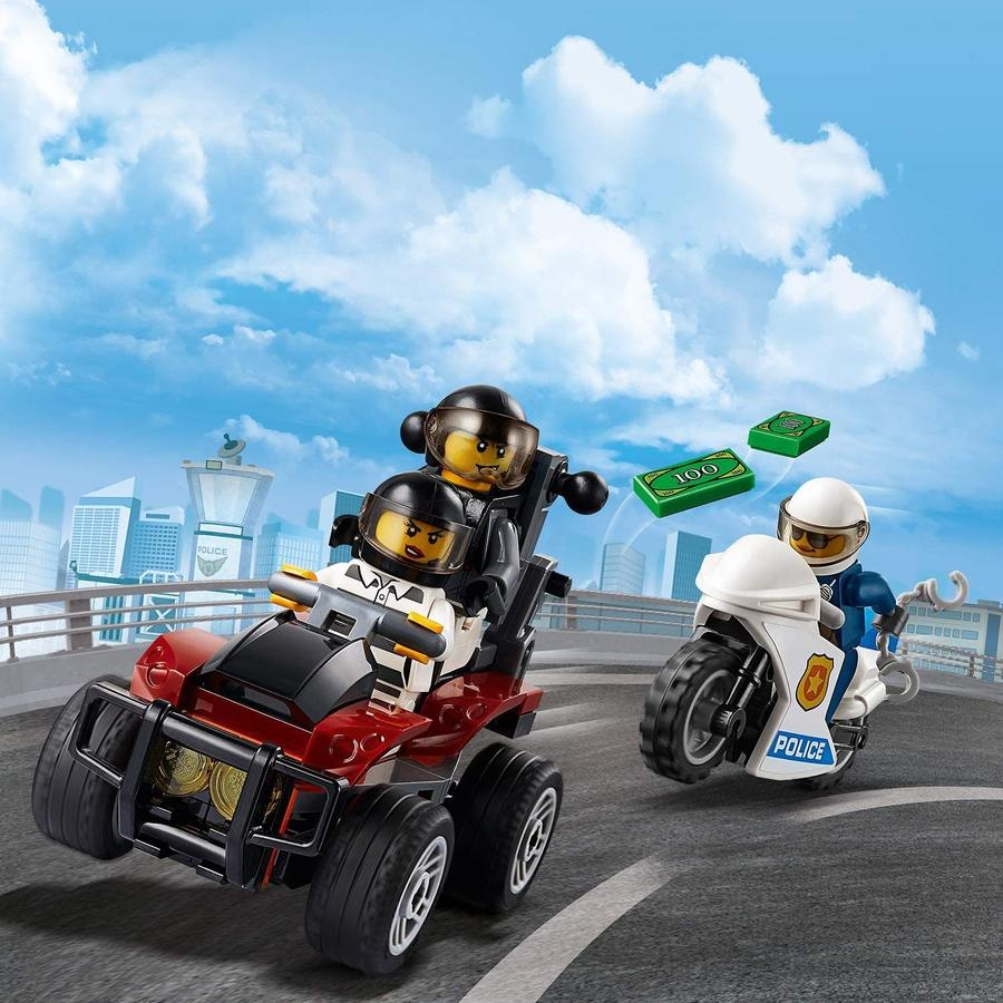 LEGO City Police Arresto con il paracadute della Polizia aerea - Lego - 60208 - 5+ anni