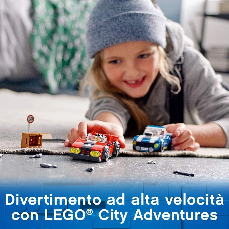 LEGO City Police Arresto su strada - Lego - 60242 - 5+ anni