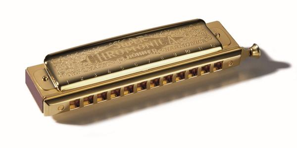 HOHNER SUPER CHROMONICA GOLD C