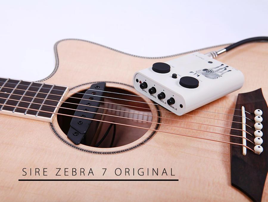 SIRE R3 GA CHITARRA Cutaway Zebra7 Natural