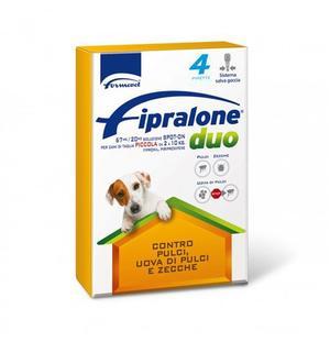 Fipralone Cane 2-10 Kg confezione da 4 Pipette