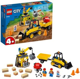 LEGO City Great Vehicles Bulldozer - Lego - 60252 - 4+ anni