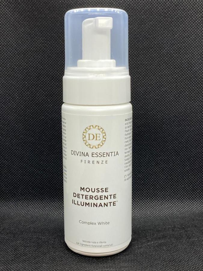 Mousse Detergente Illuminante Complex white 160 ml