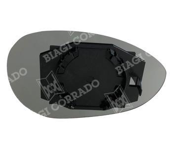 Vetro Specchio Con Piastra Sinistro Fiat 500 - Grande Punto - Punto Evo