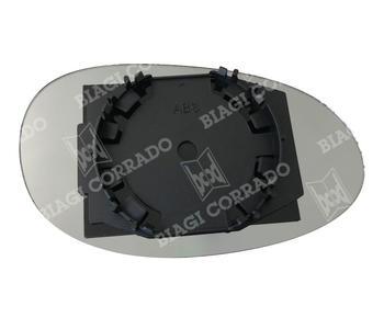 Vetro Specchio Con Piastra Destro Smart ForTwo dal 2002 al 2006