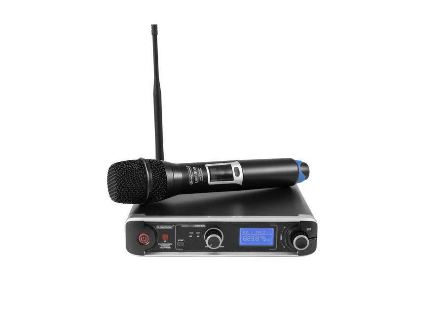 Radiomicrofono OMNITRONIC UHF-301 1-Channel Wireless Mic System 823-832/863-865MHz