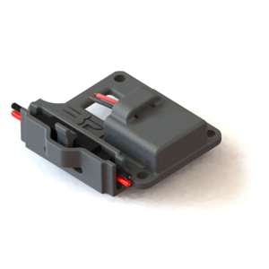 BF - Battery Connector Holder for Kyosho (Futaba/Hitech Plug)