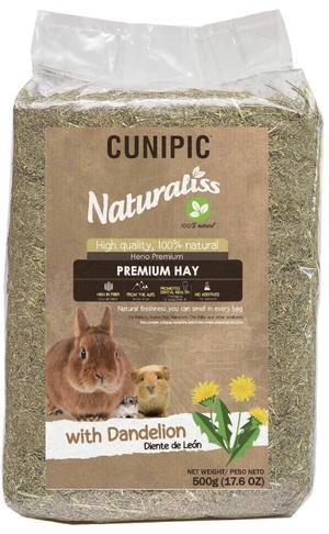OFFERTA: Cunipic Naturaliss Premium Hay - Fieno con Dente di Leone