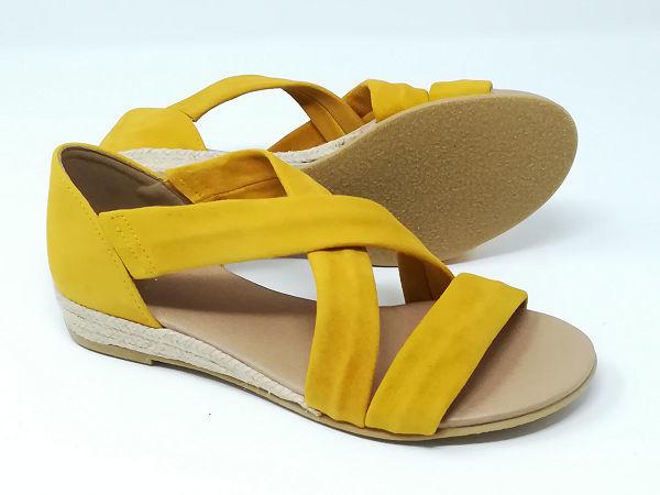 Sandalo Corda Strisce  - SKA