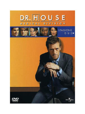 "DVD SERIE TV ""DR HOUSE"" - STAGIONE 2"