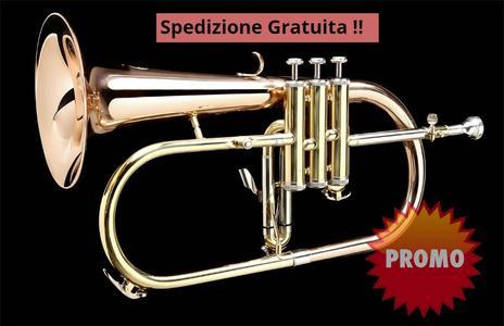 Flicorno Soprano Grassi Prestige F500GMKII Sib ramato lacc